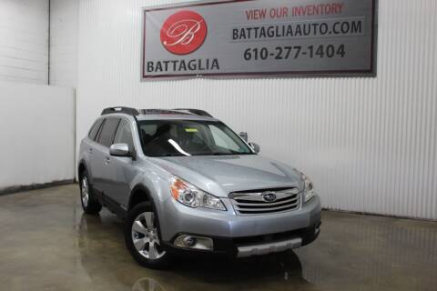2012 Subaru Outback for sale at Battaglia Auto Sales in Plymouth Meeting PA