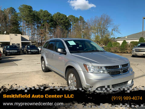 2012 Dodge Journey for sale at Smithfield Auto Center LLC in Smithfield NC