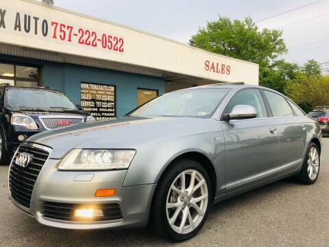 2010 Audi A6 for sale at Trimax Auto Group in Norfolk VA
