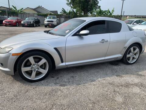 2005 Mazda RX-8 for sale at FAIR DEAL AUTO SALES INC in Houston TX