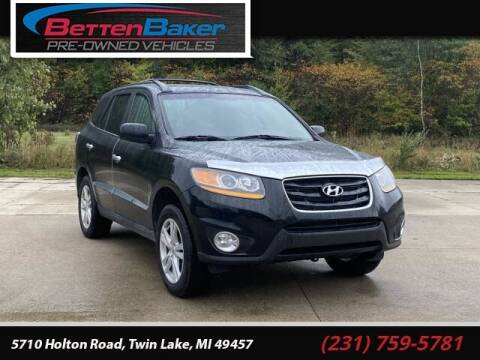 2011 Hyundai Santa Fe for sale at Betten Baker Preowned Center in Twin Lake MI
