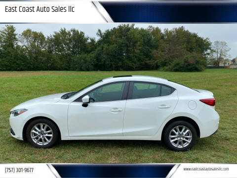 2016 Mazda MAZDA3 for sale at East Coast Auto Sales llc in Virginia Beach VA