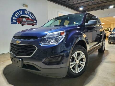 2017 Chevrolet Equinox for sale at Italy Blue Auto Sales llc in Miami FL