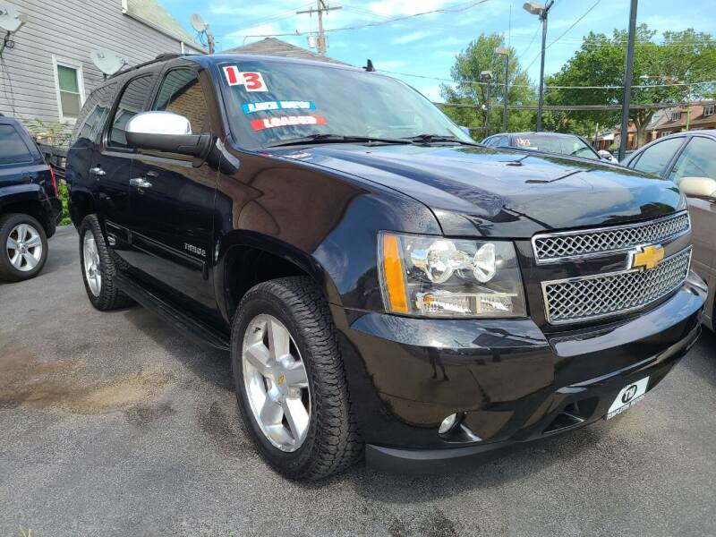 2013 Chevrolet Tahoe for sale at TEMPLETON MOTORS in Chicago IL