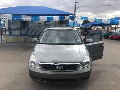 2012 Kia Sedona for sale at Autos Montes in Socorro TX