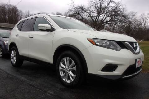 2015 Nissan Rogue for sale at Dave Franek Automotive in Wantage NJ