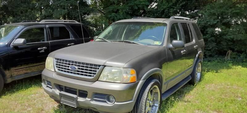 2003 Ford Explorer for sale at Gaita Auto Sales in Poquoson VA