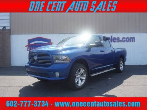 2017 RAM Ram Pickup 1500 for sale at One Cent Auto Sales in Glendale AZ