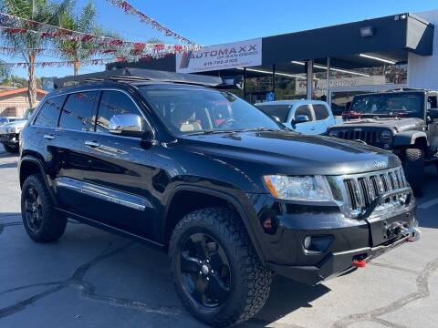 2012 Jeep Grand Cherokee for sale at Automaxx Of San Diego in Spring Valley CA