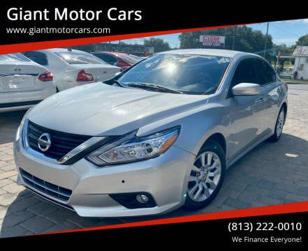 2016 Nissan Altima for sale at Giant Motor Cars in Tampa FL