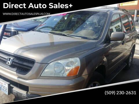 2003 Honda Pilot for sale at Direct Auto Sales+ in Spokane Valley WA