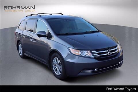 2016 Honda Odyssey for sale at BOB ROHRMAN FORT WAYNE TOYOTA in Fort Wayne IN