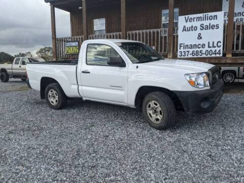 2010 Toyota Tacoma for sale at Vermilion Auto Sales & Finance in Erath LA