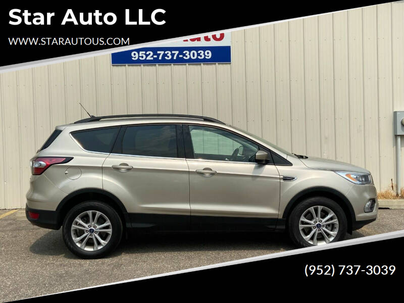 2018 Ford Escape for sale at Star Auto LLC in Jordan MN