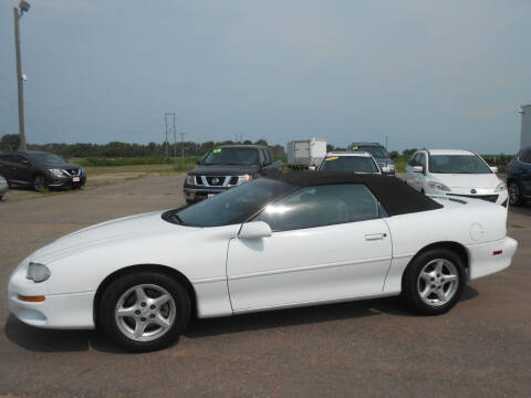 2001 Chevrolet Camaro for sale at Salmon Automotive Inc. in Tracy MN