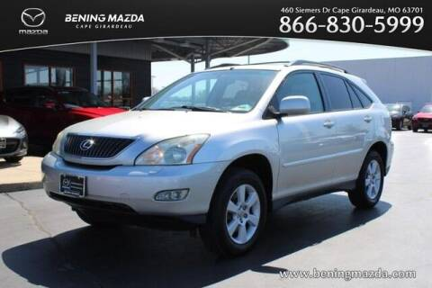 2004 Lexus RX 330 for sale at Bening Mazda in Cape Girardeau MO