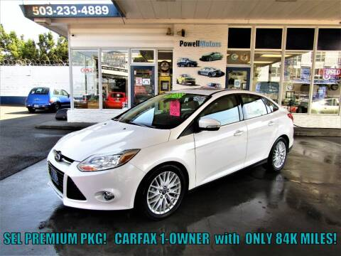 2012 Ford Focus for sale at Powell Motors Inc in Portland OR