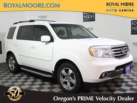 2012 Honda Pilot for sale at Royal Moore Custom Finance in Hillsboro OR