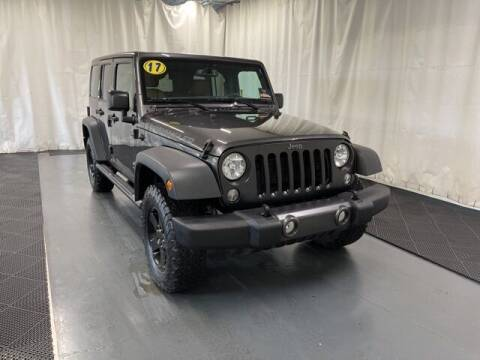 2017 Jeep Wrangler Unlimited for sale at Monster Motors in Michigan Center MI
