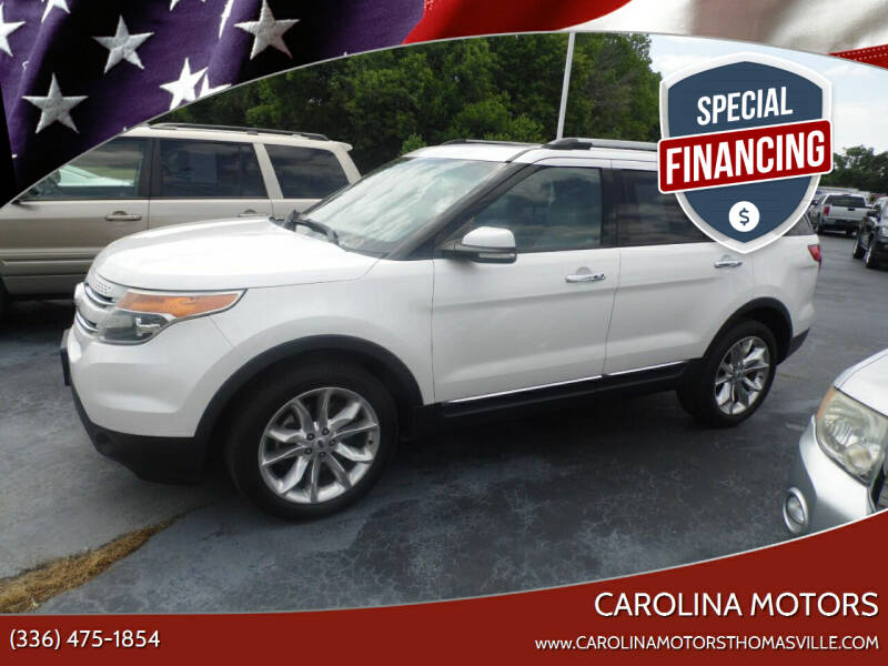 2013 Ford Explorer for sale at CAROLINA MOTORS in Thomasville NC