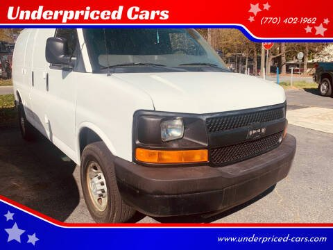 2007 Chevrolet Express Cargo for sale at Underpriced Cars in Marietta GA