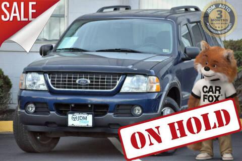 2004 Ford Explorer for sale at JDM Auto in Fredericksburg VA