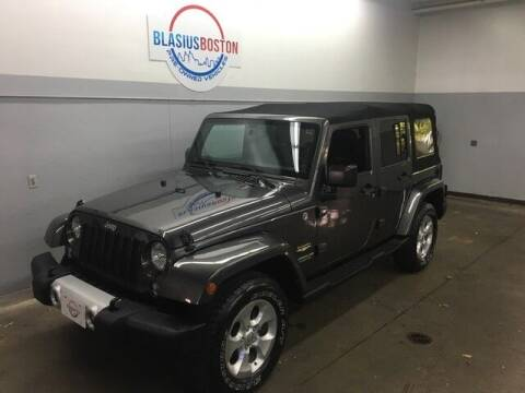 2014 Jeep Wrangler Unlimited for sale at WCG Enterprises in Holliston MA