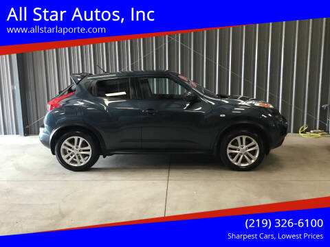 2014 Nissan JUKE for sale at All Star Autos, Inc in La Porte IN