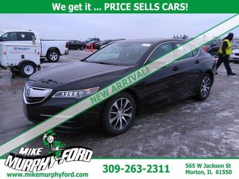 2016 Acura TLX for sale at Mike Murphy Ford in Morton IL