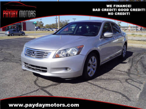 2009 Honda Accord for sale at Payday Motors in Wichita And Topeka KS