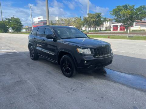 2012 Jeep Grand Cherokee for sale at Hard Rock Motors in Hollywood FL