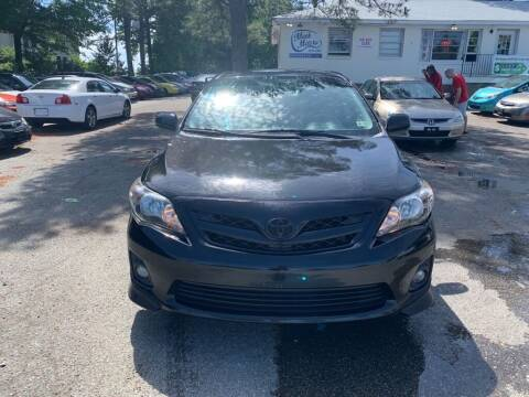 2011 Toyota Corolla for sale at MEEK MOTORS in North Chesterfield VA