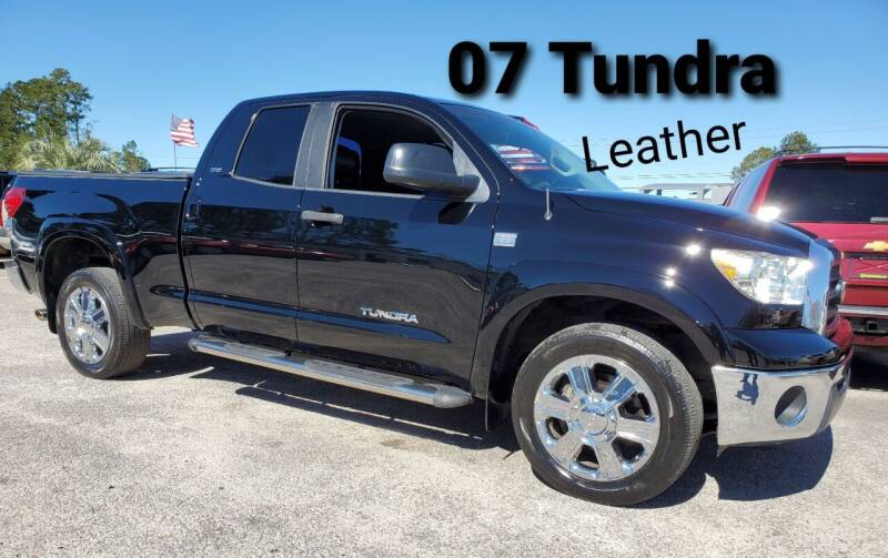2007 Toyota Tundra for sale at Rodgers Enterprises in North Charleston SC