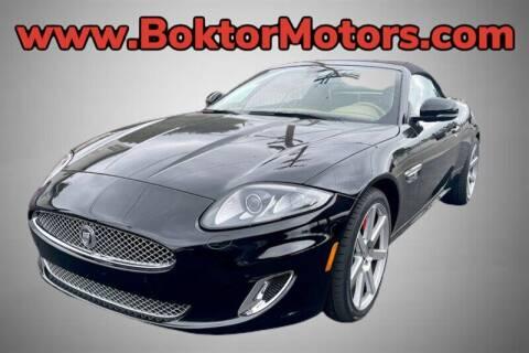 2012 Jaguar XK for sale at Boktor Motors in North Hollywood CA