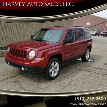 2012 Jeep Patriot for sale at Harvey Auto Sales, LLC. in Flint MI