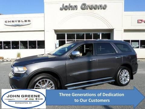 2014 Dodge Durango for sale at John Greene Chrysler Dodge Jeep Ram in Morganton NC