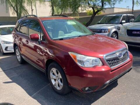 2014 Subaru Forester for sale at Autos by Jeff Scottsdale in Scottsdale AZ