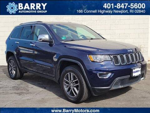 2017 Jeep Grand Cherokee for sale at BARRYS Auto Group Inc in Newport RI