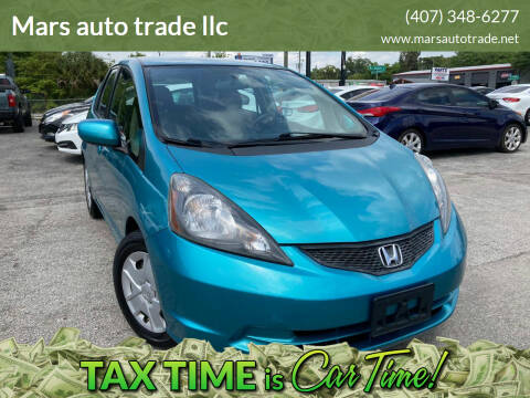 2013 Honda Fit for sale at Mars auto trade llc in Kissimmee FL