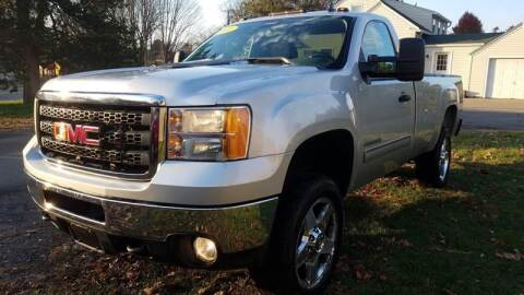 2011 GMC Sierra 2500HD for sale at ALL Motor Cars LTD in Tillson NY