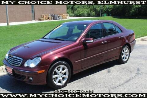 2007 Mercedes-Benz C-Class for sale at My Choice Motors Elmhurst in Elmhurst IL