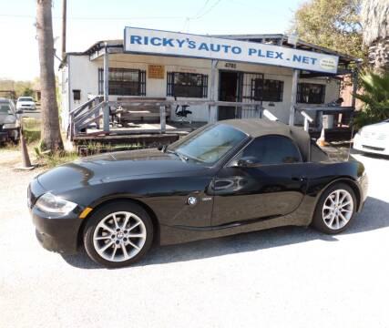 2007 BMW Z4 for sale at RICKY'S AUTOPLEX in San Antonio TX