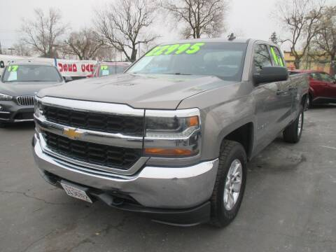 2017 Chevrolet Silverado 1500 for sale at Quick Auto Sales in Modesto CA