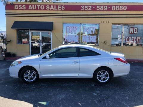 2005 Toyota Camry Solara for sale at BSS AUTO SALES INC in Eustis FL