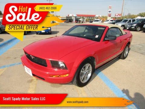 2005 Ford Mustang for sale at Scott Spady Motor Sales LLC in Hastings NE