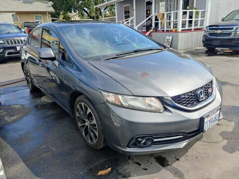 2013 Honda Civic for sale at Rey's Auto Sales in Stockton CA