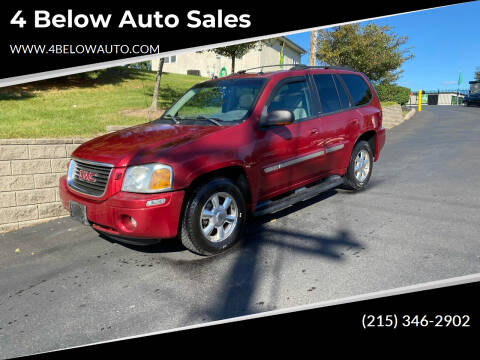 2005 GMC Envoy for sale at 4 Below Auto Sales in Willow Grove PA