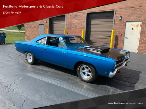 1968 Plymouth Roadrunner for sale at Fastlane Motorsports & Classic Cars in Addison IL