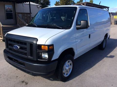 2014 Ford E-Series Cargo for sale at OASIS PARK & SELL in Spring TX