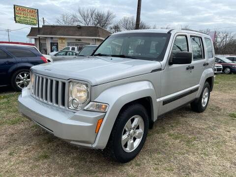 2011 Jeep Liberty for sale at Texas Select Autos LLC in Mckinney TX